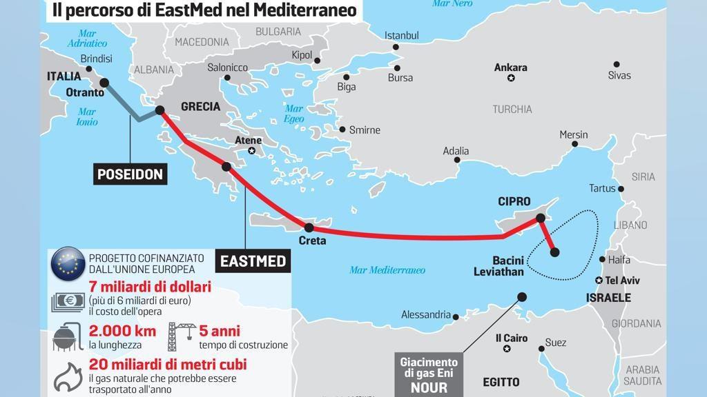 Risultati immagini per Italia, da regina del Mediterraneo a hub del gas israeliano